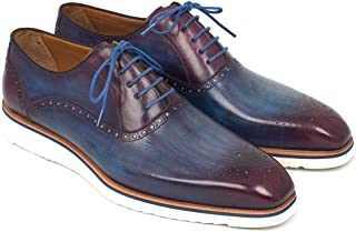 Paul Parkman Smart Casual Shoes For Men Blue & Purple (ID#184SNK-BLU)