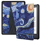 Robustrion Ultra Slim Smart Flip Case Cover for All New Amazon Kindle 6' 10th Generation - Landscape