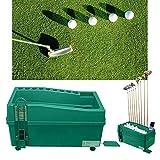 Shikha Golf Ball Dispenser Powerless Electricity-Less Automatic Golf Ball Teeing Device Training Machine Golf Club Organizer