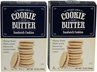 Trader Joes Cookie Butter Sandwich Cookies (2 Pack)