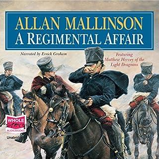 A Regimental Affair audiobook cover art