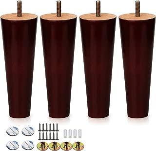 Alasdo Set of 4 Furniture Legs,6.5