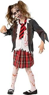 Rubie's Costume Co - Girls Zombie School Costume