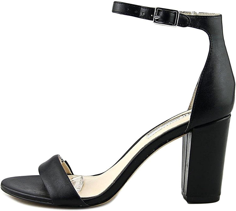 INC Womens Kivah Faux Leather Ankle Strap Dress Sandals