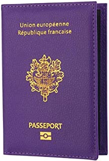 Bleu BAIGIO Sac de protection de passeport et cartes didentit/é Sac de voyage Sac de protection /à la mode style populaire