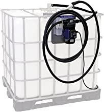 Graco 24V644 LD Blue Electric Diesel Exhaust Fluid (DEF) Tote Pump Package with Manual Nozzle, 120V, 9 gpm Max Flow Rate
