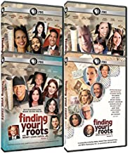 Finding Your Roots Complete Set of Seasons 1, 2, 3 & 4