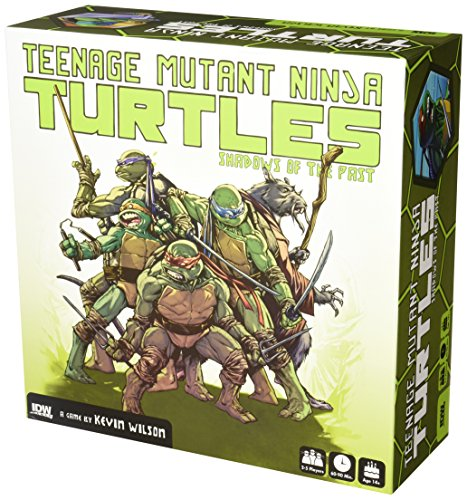 Teenage Mutant Ninja Turtles: Shadows of the Past Boardgame