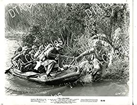 MOVIE PHOTO: OPERATION BIKINI-1963-8 X 10-STILL-WAR-DRAMA-WWII-AMBUSH-JAPANESE PATROL BO VG