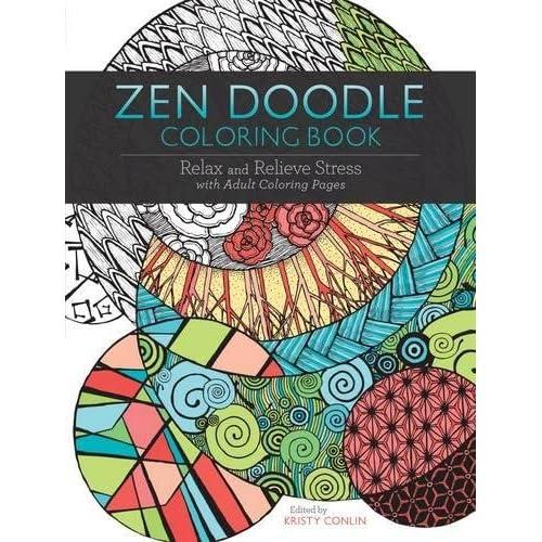 Zen Doodle Coloring Book Nature Girls Pdf Pdf Drive Free Books Download