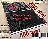 MI CASA Felpudo desinfectante Entrada, Alfombrilla, liquido desinfectante, Calzado,...