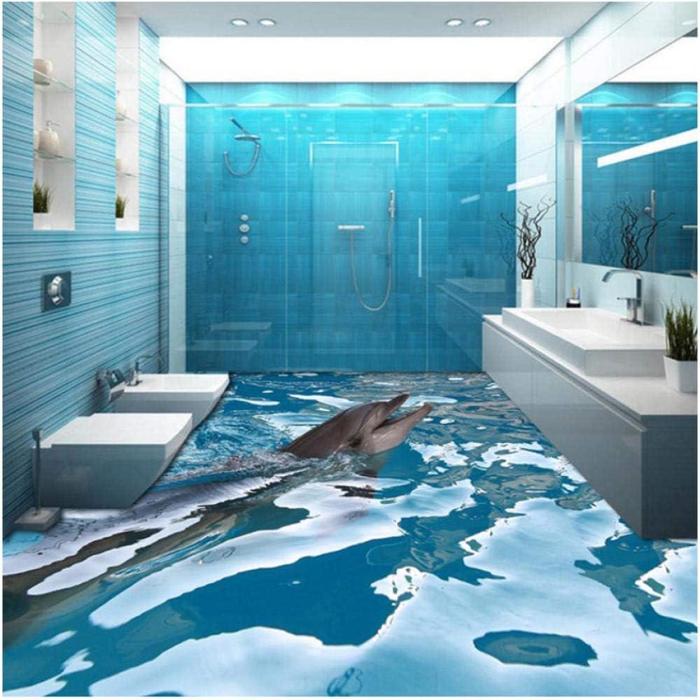 N\ A Decorative Mural- Custom 3D Wallpaper Water Max Chicago Mall 45% OFF Floor Wall Sea