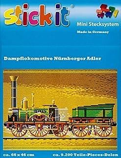 Stickit Stickit Stickit Mini Stecksystem Dampflokomotive Nürnberger Adler ca. 9.200 Teile Nr. 42138 B01HZUQPPQ  Geschäft 93352b