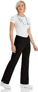 (black, xlp) - Urbane by Landau Women's Alexis Comfort Elastic Waist Scrub Pant