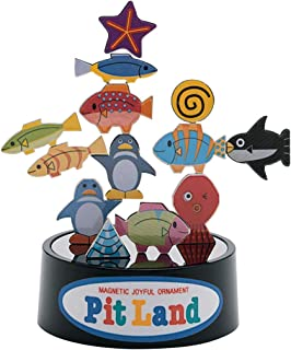 PitLand Aquarium Magnetic Balance 3D Puzzle Toy Imported from Japan
