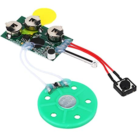 Loop for DIY Creative Gift 60s DIY Greeting Card Module Voice Sound Recorder Chip DIY Audio Cards Module High Sound Quality