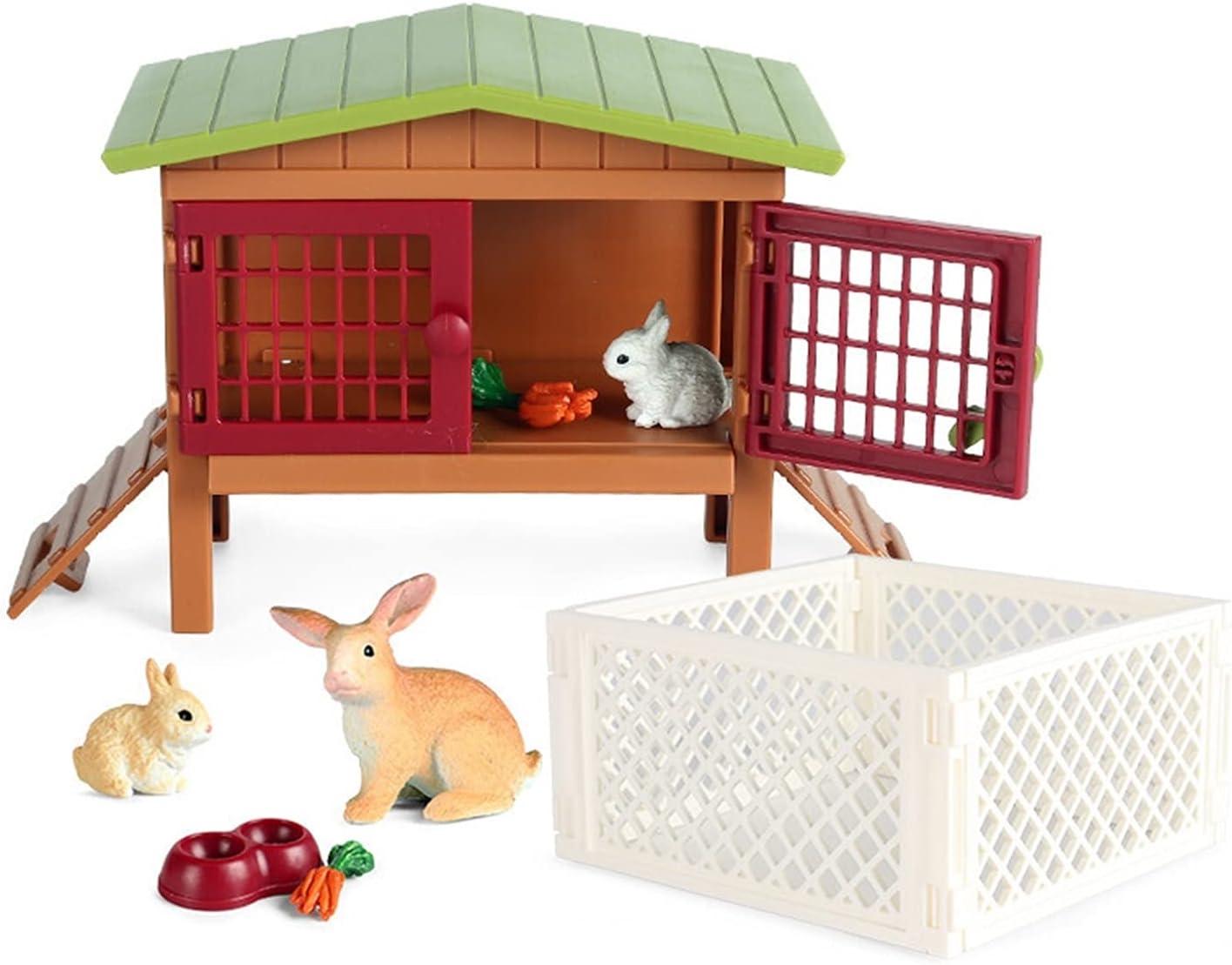 DUANCUICUIZ Model Simulation Farm Zoo Dog Farmer Chicken Animal Max 49% OFF Ranking TOP14