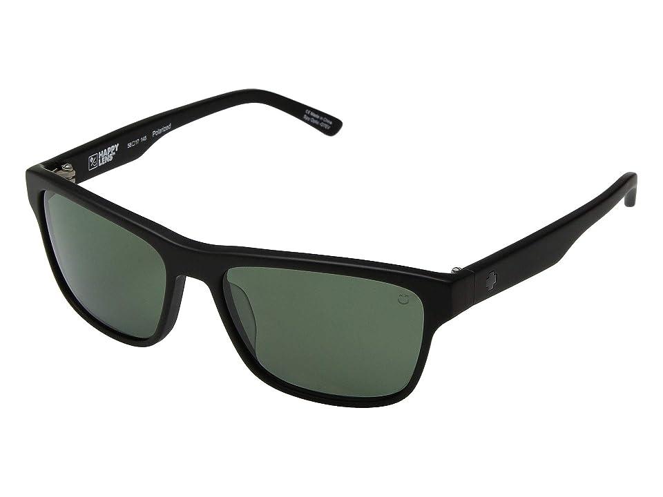 Spy Optic Walden (Black/Happy Gray Green) Sport Sunglasses