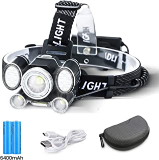 OUTERDO Adjustable Focus Headlamp 24LEDwith COB Downlighting