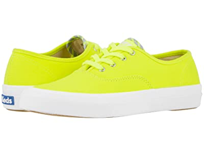 Keds Surfer Neon Canvas (Neon Yellow) Women