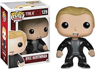 Funko Eric Northman: True Blood x POP! Vinilo para TV y 1 POP. Paquete de protectores gráficos de plástico PET compatibles [# 129 / 04067 - B]