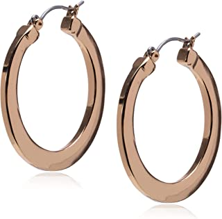 GUESS Basic Logo Hoop Earrings