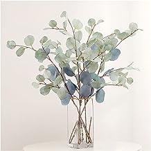 داخلي Home الأوكالبتوس بولات صناعية مائية مائية مائية مطبوع عليه صورة بولات نباتات بلاستيكية (اللون: أزرق فاتح)