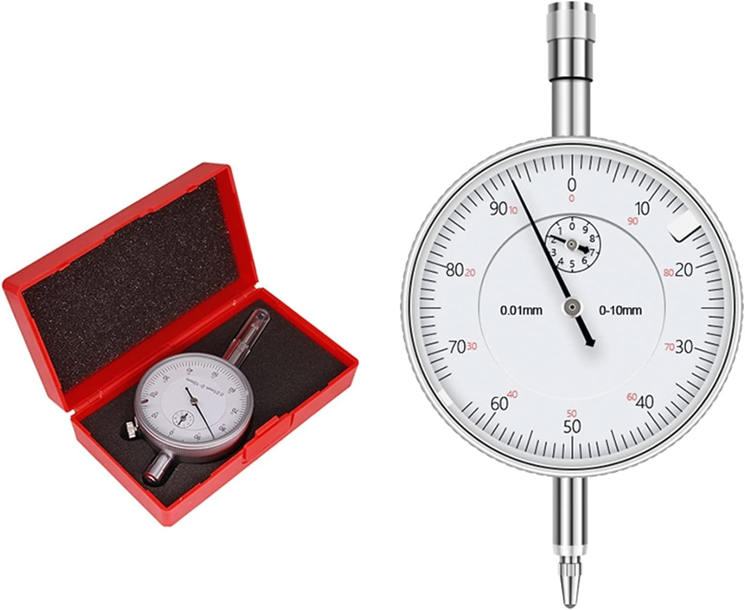 SHENYIFAA Very popular Micrometer Caliper Dial Indicator New Free Shipping Gauge Precise 0.01mm