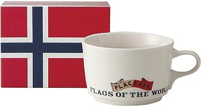 フラッグ カフェ マグカップ (ポストカード付) (化粧箱入) ノルウェー 1077