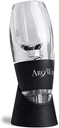 Wine Aerator Pourer - Premium Red Wine Pourer & Diffuser with Gift Box, Stand & Velvet Pouch. Enjoy The Full Taste of Wine Today!