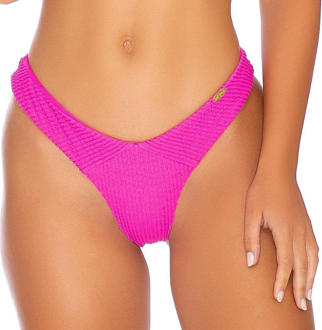 Max 65% OFF Luli Fama PURA Long Beach Mall CURIOSIDAD - Tab High Side Leg Bottom Thong