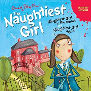 'Naughtiest Girl in the School' and 'Naughtiest Girl Again' cover art