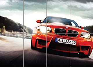 BMW M ROADSTER CAR RED SPORTS GIANT POSTER ART B1218
