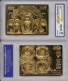 KISS PSYCHO CIRCUS Album Cover 23KT Gold Card Gene Simmons - Graded GEM MINT 10
