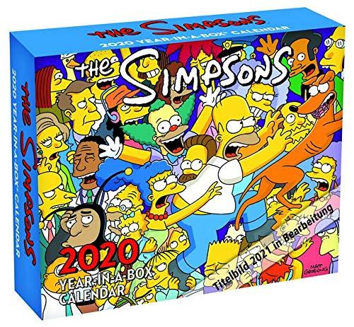The Simpsons 2021: Original Danilo-Tagesabreisskalender [Mehrsprachig] [Kalender]