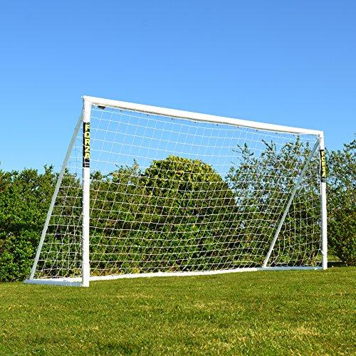 Net World Sports Forza Fußballtore - das Beste Tor bei jedem Wetter -7 Größen (Match 3,7m x 1,8m)