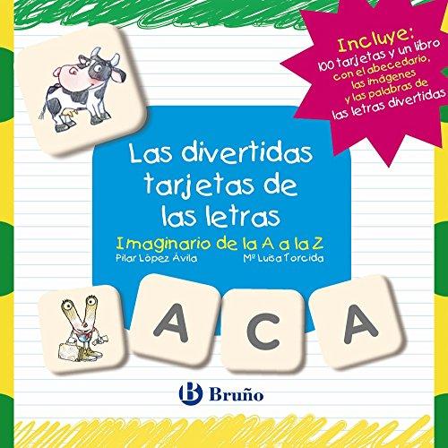 Las divertidas tarjetas de las letras: Imaginario de la A a la Z (Castellano - A PARTIR DE 3 AÑOS - LIBROS DIDÁCTICOS - Las divertidas aventuras de las letras y los números)