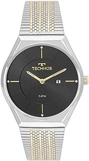 Relógio Feminino Technos Fashion GL15AS/5P - Prata/Dourado