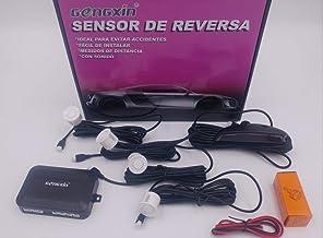 GENGXIN Sensor DE REVERSA con Sonido Color Blanco