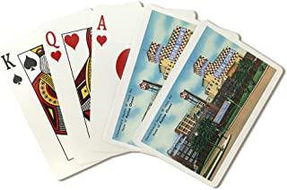 St. Louis, Missouri - Exterior View of Checkerboard Square, Ralston Purina Company (Playing Card Deck - 52 Card Poker Size with Jokers)