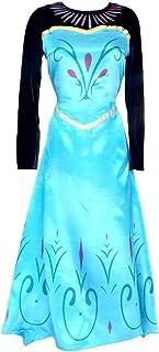 Inception Pro Infinite Talla M - Disfraz - Traje Coronación Elsa - Mujer - con Capa - Disfraz - Traje - Carnaval - Halloween - Cosplay - Princesa - Frozen