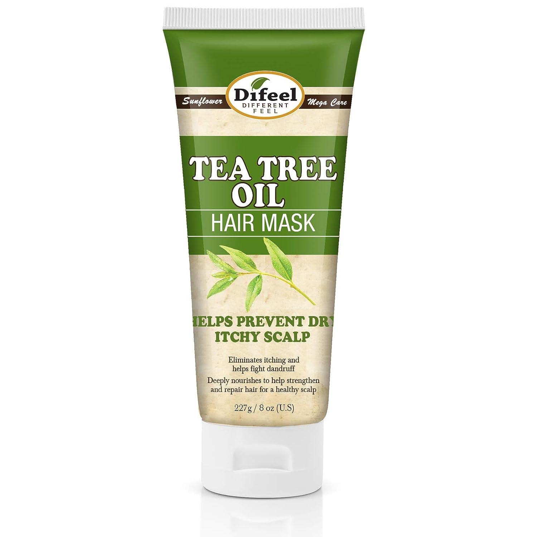 Difeel Milwaukee Mall Tea Tree Sale item Oil Hair - 8 Treatme Mask oz.