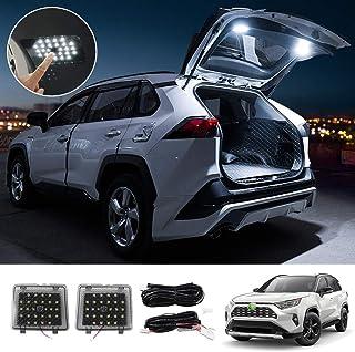 Powerty Interior LEDLight CargoLedLights Trunk Lamps Decorative Atmosphere Lamp Trunk Ceiling Lighting for Toyota RAV4 ...
