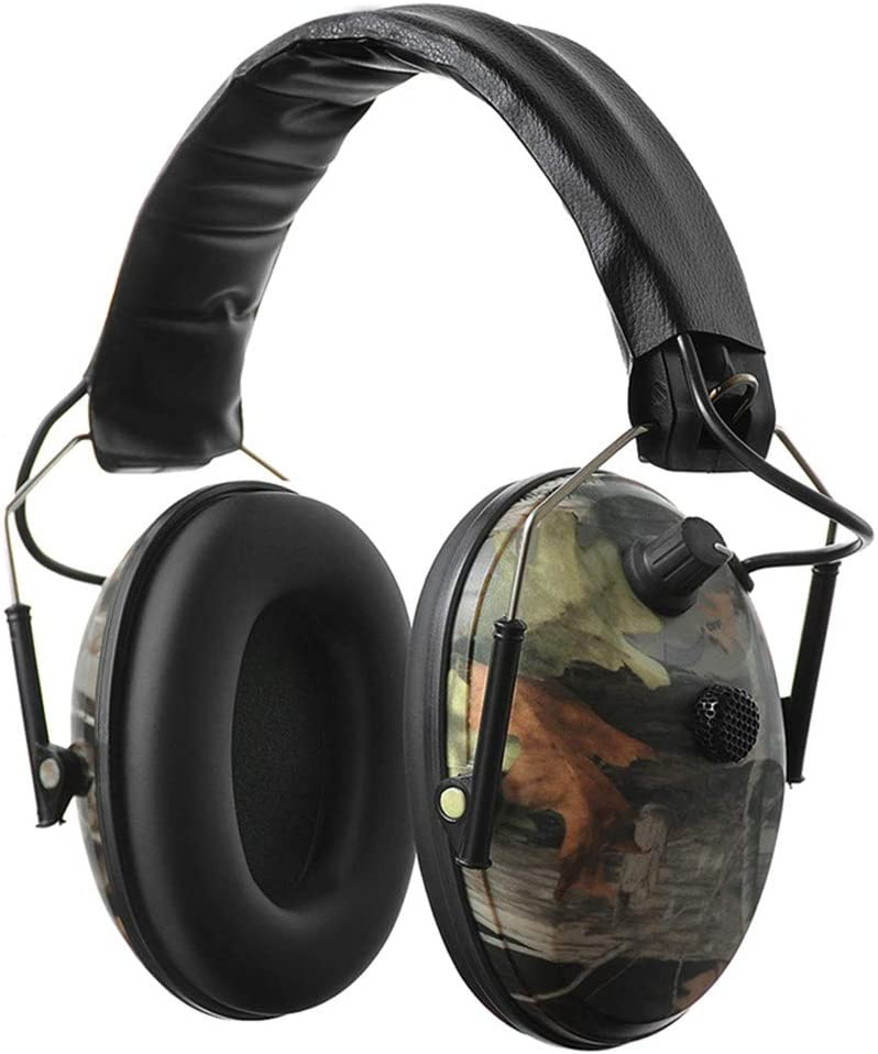 PROTEAR Sound Amplification Electronic Shooting Earmuff, Ear Protection Noise Reduction Earmuff -NRR 23dB