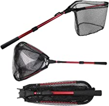 YVLEEN Folding Fishing Net - Foldable Fish Landing Net...