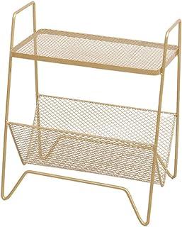 Kays Table d'appoint Table de Chevet Bout de canapé Table de Nuit Petit métal Table d'appoint Salon Chambre Fin Table avec...