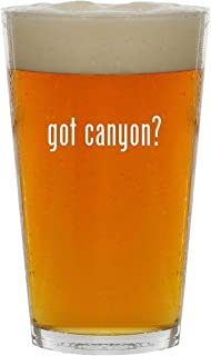 got canyon? - 16oz Clear Glass Beer Pint Glass