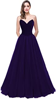 Womens 2018 Sweetheart Bridesmaid Dress Velvet Cocktail Party GownPM826