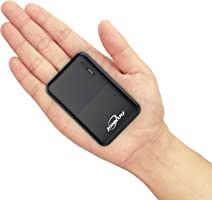 Draagbare Power Bank-laders 10000 mAh, Externe Batterijpakketten met Hoge Capaciteit 2,4 A 2-poorten met USB Type C...