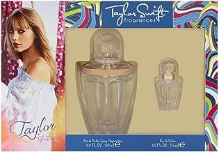 Taylor by Taylor Swift for Women 2 Piece Set Includes: 3.4 oz Eau de Parfum Spray + 0.25 oz Parfum Collectible